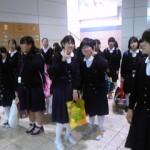 仙台空港着