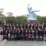 長崎平和公園と原爆資料館