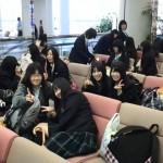 羽田空港に無事到着