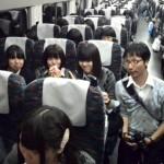 新幹線に無事乗車