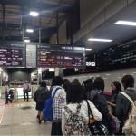 東京駅に到着しました。