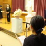 【中】修了ミサ 及び 卒業証書授与式