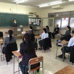 10月11日(木)高校2年英語科修学旅行結団式