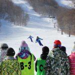 スキー合宿訓練
