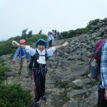 4年登山合宿訓練