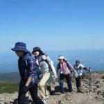 5・6年登山合宿訓練